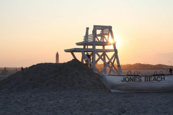 jones beach sunset