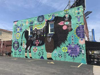 mural in Buffalo NY