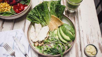papa poule caesar salad maman greenpoint