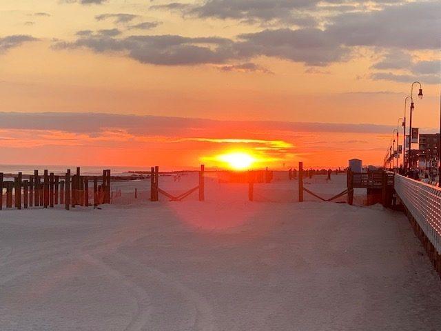 long beach long island sunset