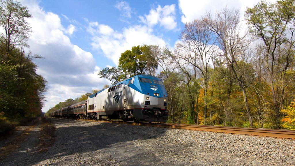 Amtrak Train Flickr CC John Mueller