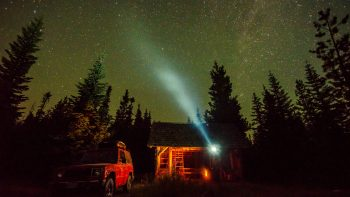 Night Sky Photography Fuji_Mountain_Oregon