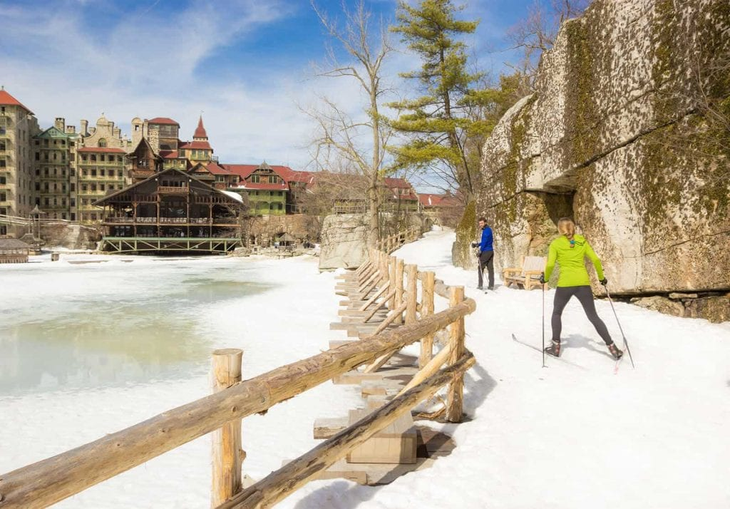 Cross Country Skiing at Mohonk Mountain House