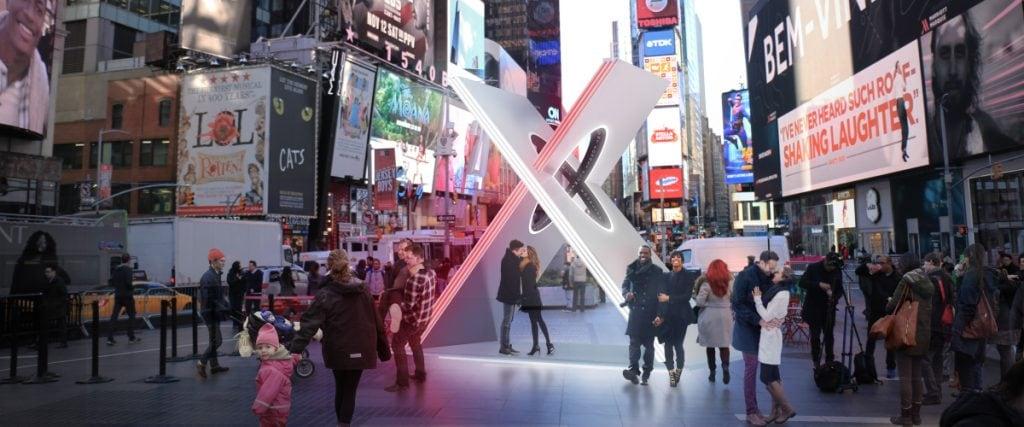 Times Square Arts X