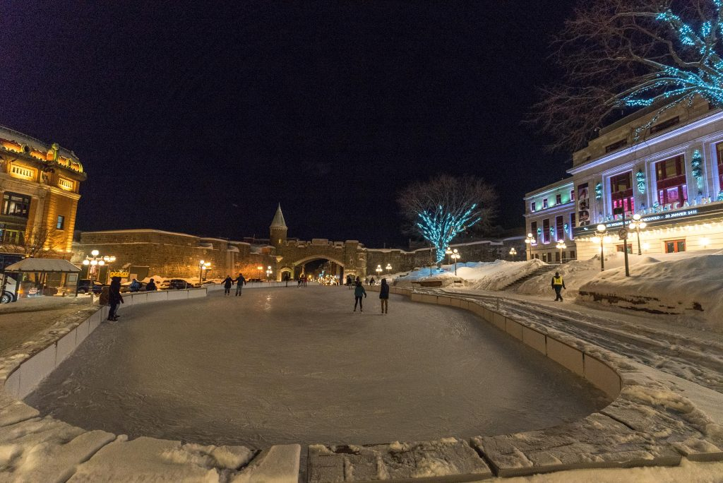 Quebec City Ice Skating
