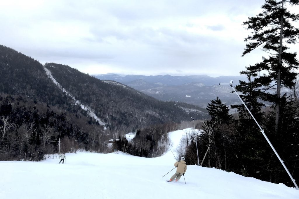 Skiing at Whiteface Mountain