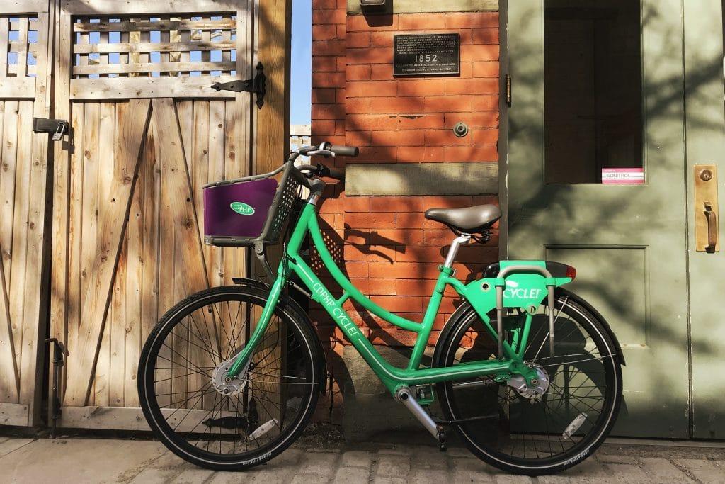 Bikes in Albany