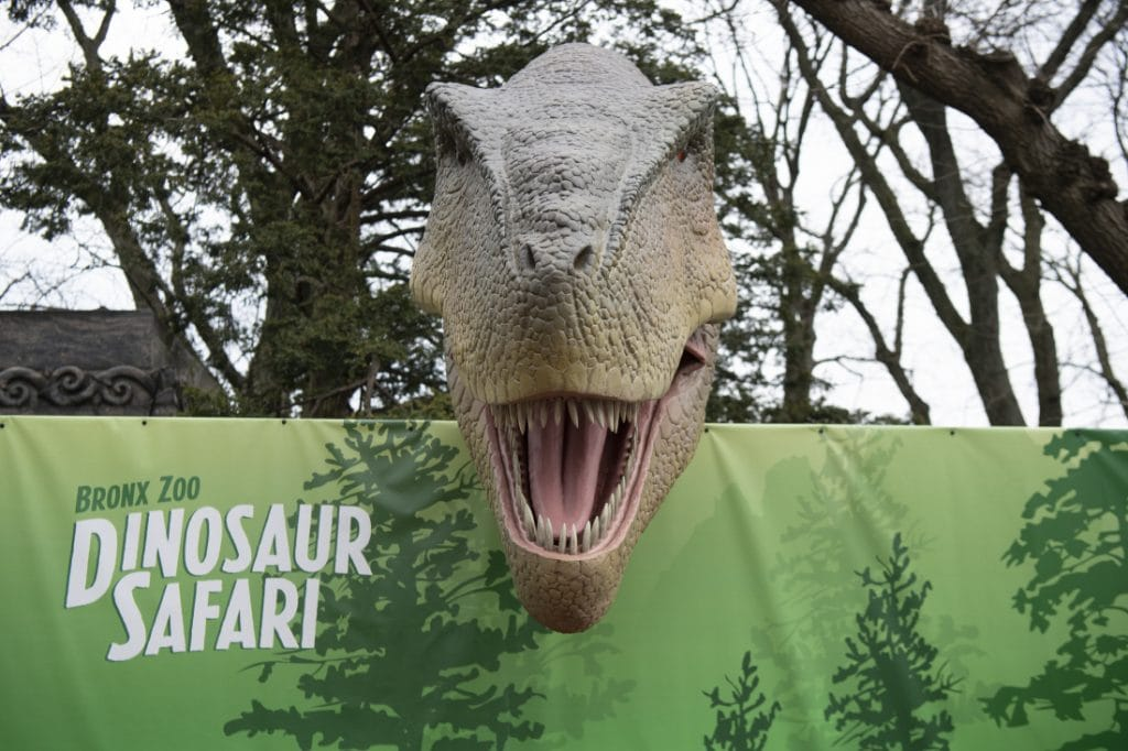 Dinosaur Safari at The Bronx Zoo by Julie Larsen Maher