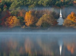 Church Steeple in Eaton New Hampshire