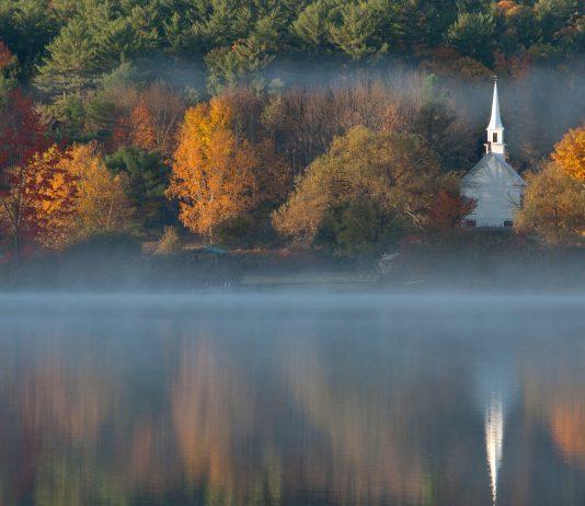 Church Steeple in Eaton New Hampshire