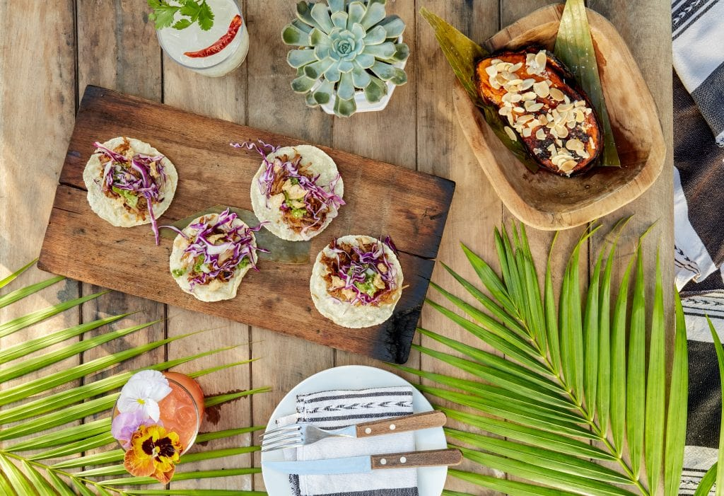 Nibbles Inspired by the Yucatan