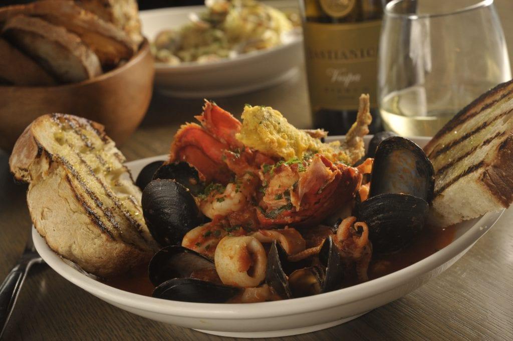 Seafood in Boston