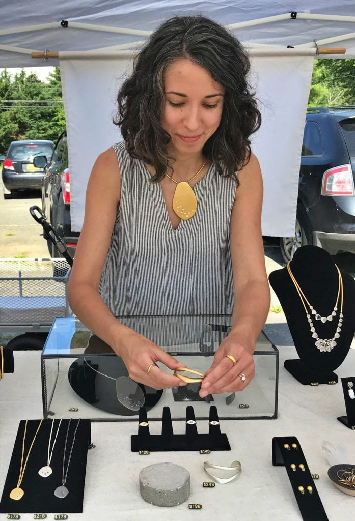 Phoenicia Flea: Sara Golden Jewelry
