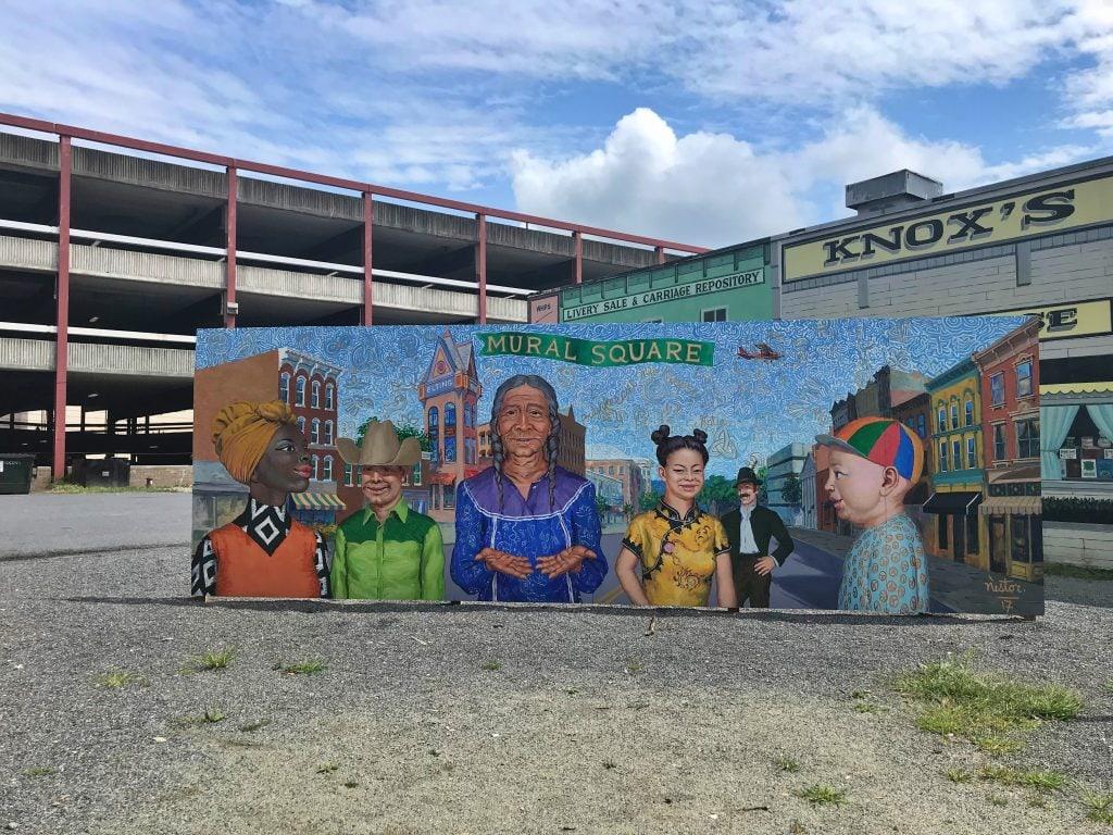 Poughkeepsie_Mural_Square_Nestor_1