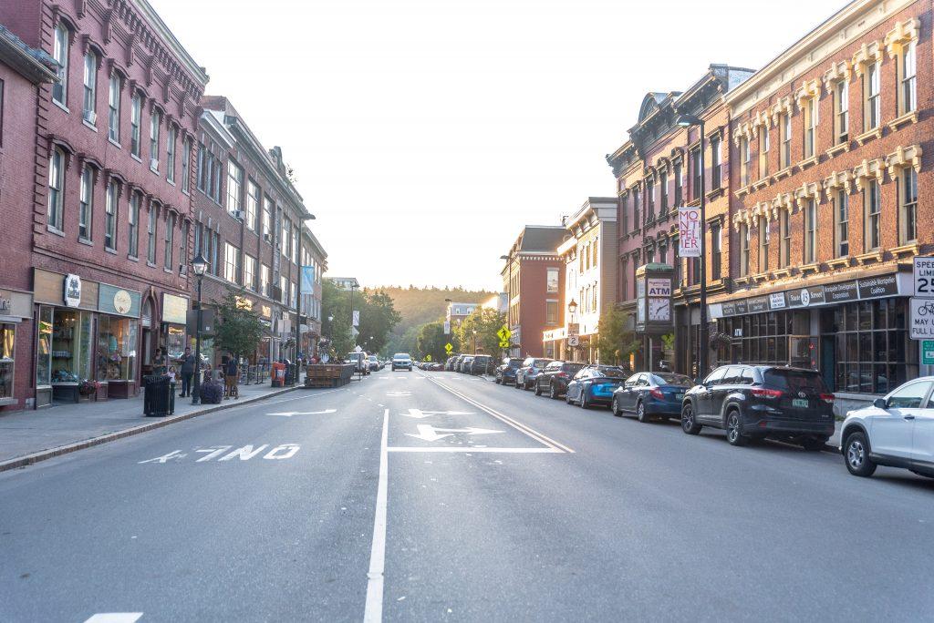 Downtown Montpelier VT