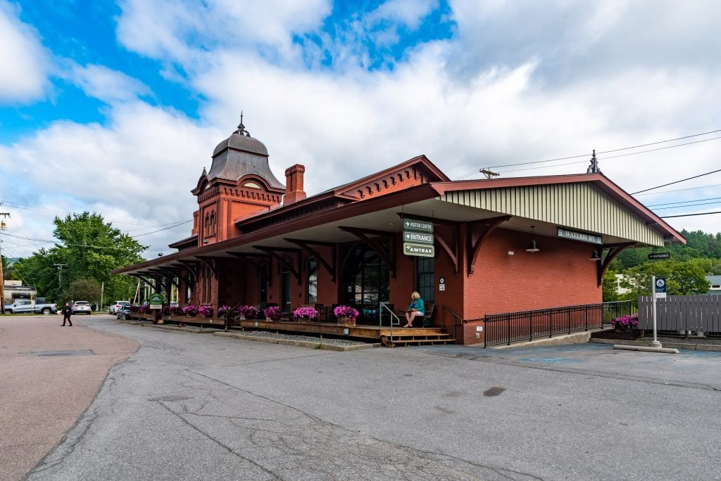 Waterbury Amtrak Train Station
