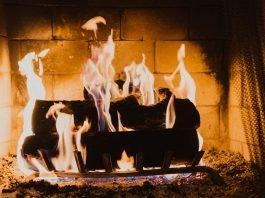 Romantic Getaway Fireplace Unsplash