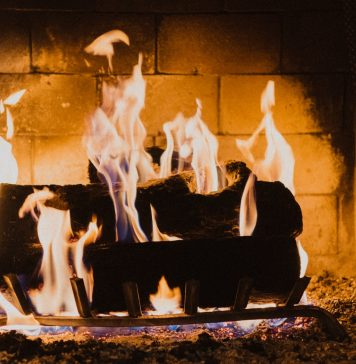 Romantic Getaway Fireplace Unsplash