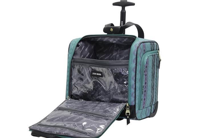 Steve Madden duffel bag for travel