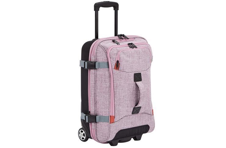 AmazonBasics wheeled duffel bag