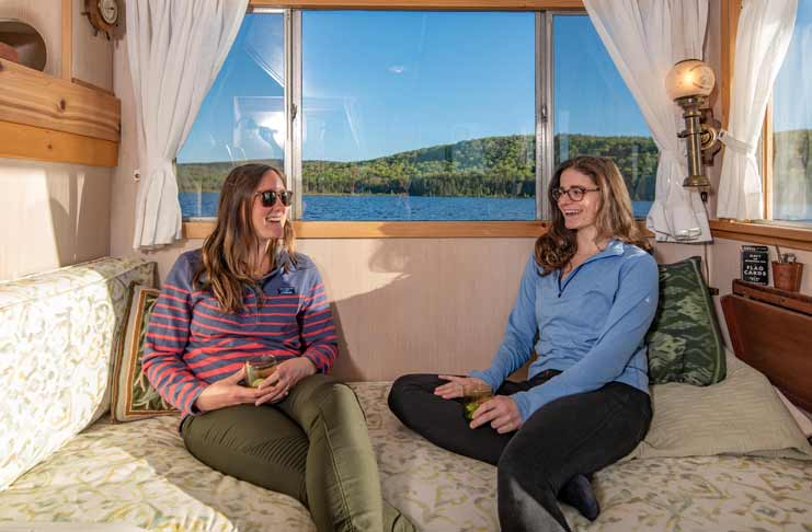 Floating Vacation Rental maine