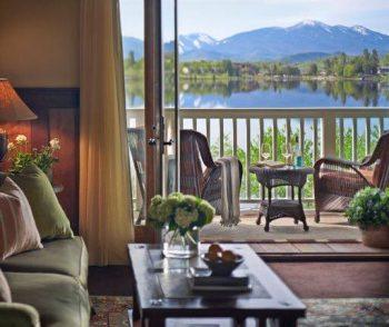 Mirror lake inn view
