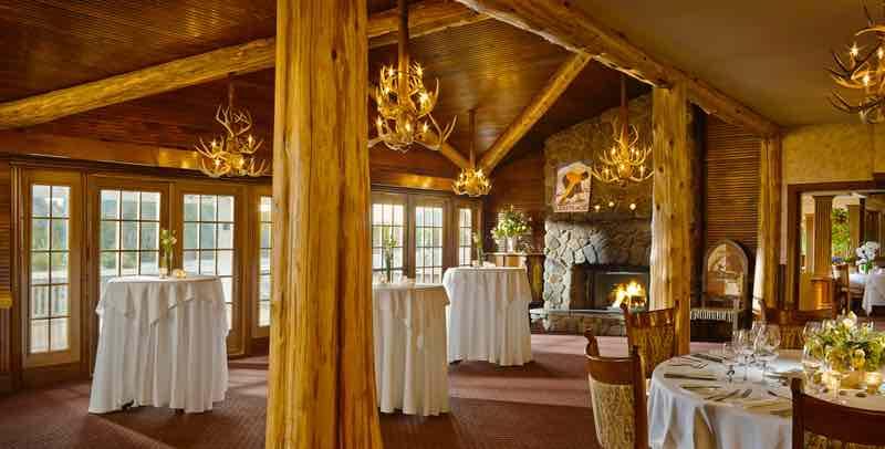 The View Restaurant mirror lake