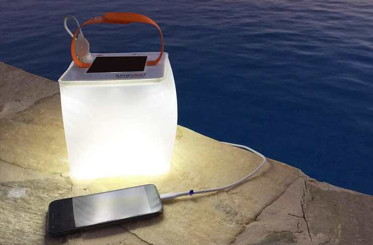 LED Solar Lantern and Phone Charger