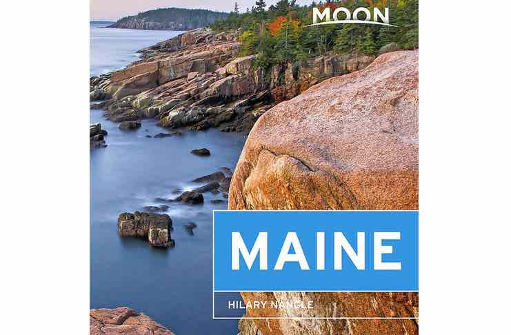 Moon maine travel guide books