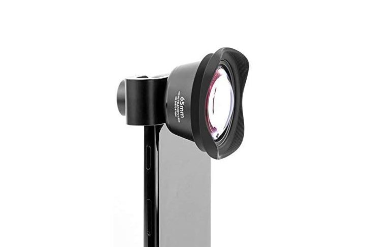 Optical lense for iphone