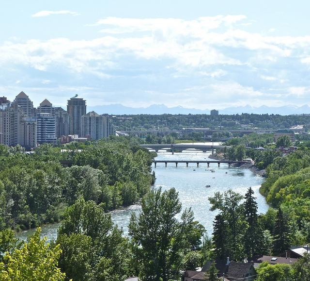 Bow River, Calgary