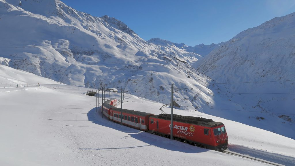 Glacier Express by Kecko