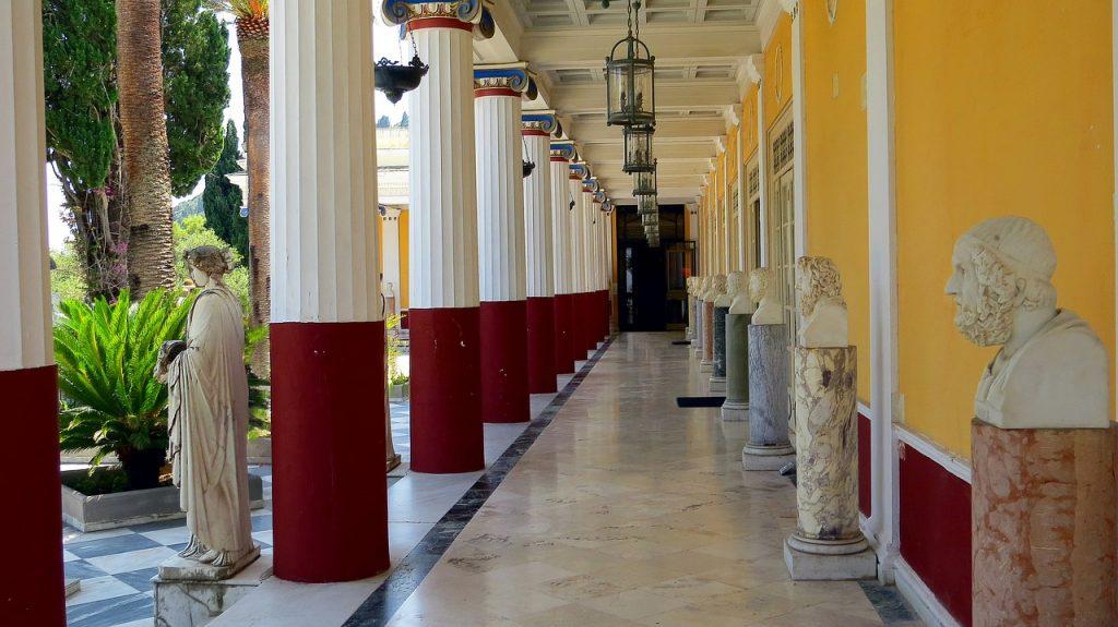 palace-- corfu