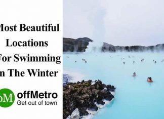 Beautiful Locations For Swimming In The Winter
